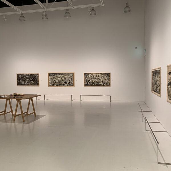 アグロス・アートプロジェクト2017-18 明日の収穫 成果発表展示 会場装飾