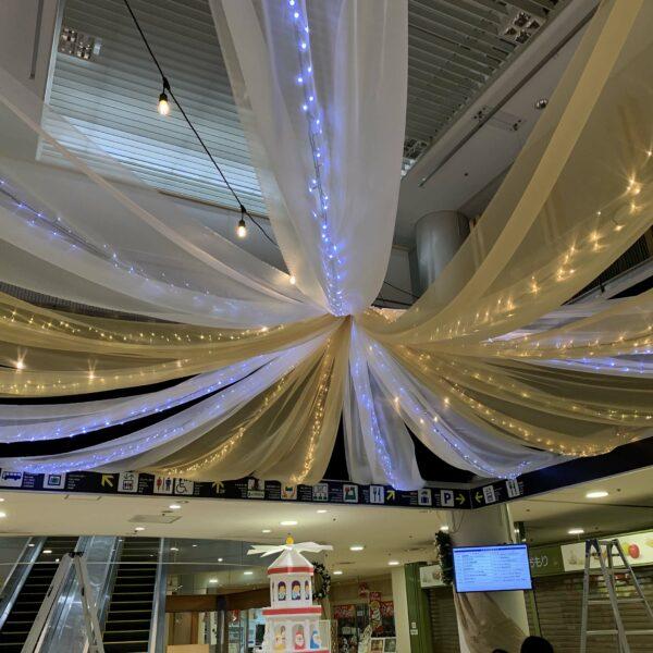 クリスマスマーケット館内装飾